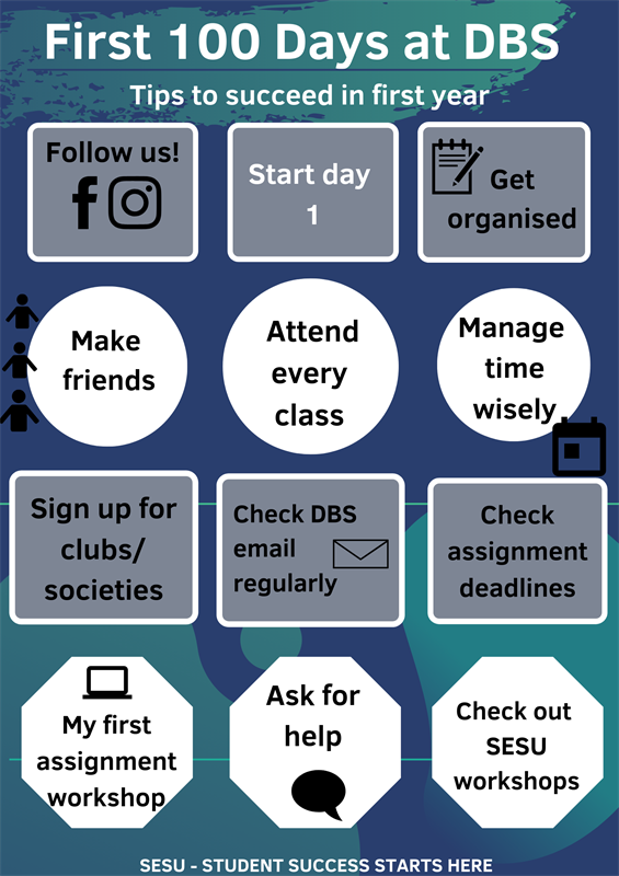 Tips to succeed in first year